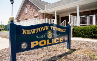 Newtown Township, Bucks County, Police station