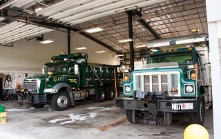 Newtown Township, Bucks County, Public Works trucks