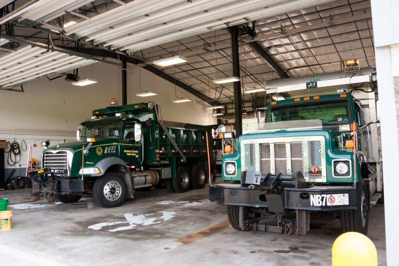 Newtown Township, Bucks County, Public Works trucks