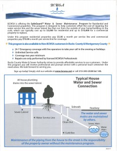 Bcwsa Safeguard Water And Sewer Maintenance Program